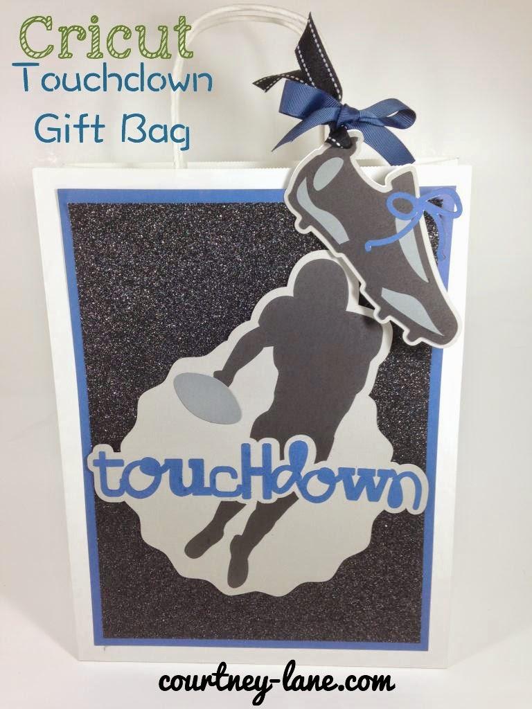 football gift bag