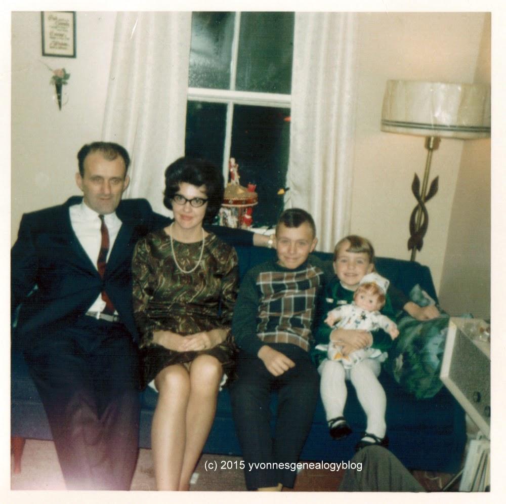 Leno Bozzer with his family