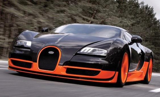 Bugatti Veyron Super Sport Top Speed Car Videos on StreetFire