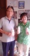 Briefing Obat Hewan dengan Pemilik Peternakan Kambing  Perah tgl 10 Januari 2014
