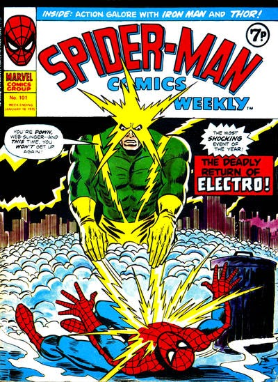 Spider-Man Comics Weekly #101, Electro