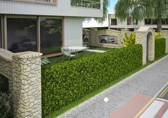pagar rumah sederhana minimalis dan cantik