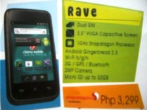 Cherry Mobile Rave Affordable Dual Sim