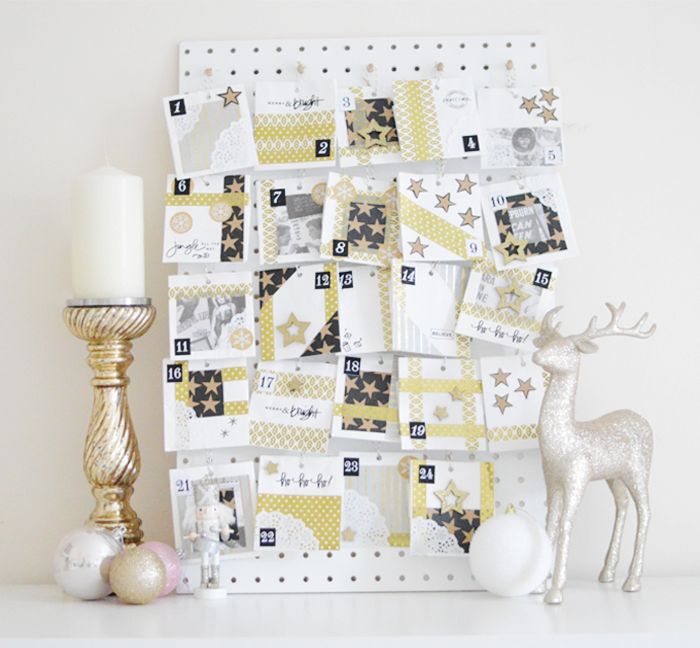 Advent Calendar Design Your Own : How to create your own advent calendar apartment number