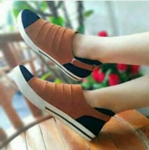Obral Flat Shoes Snacker, Keren dan Mantap