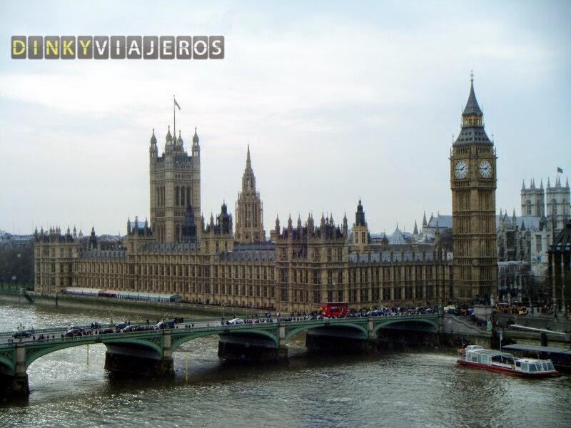 Londres. Vistas del Parlamento