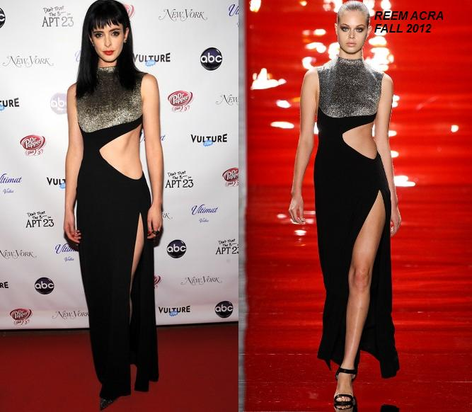Krysten Ritter In Reem Acra At The Premiere Party For &Quot;don't Trust The