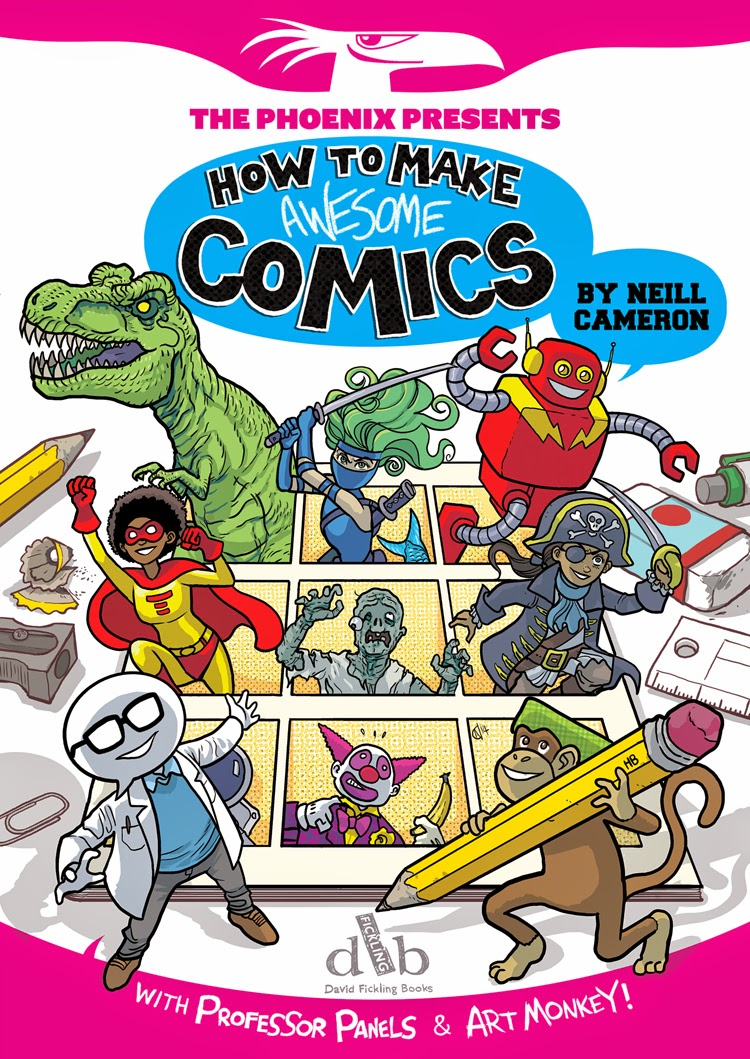 How To Make A Comic Book Cover : Neill s comics and literacy part things you can do