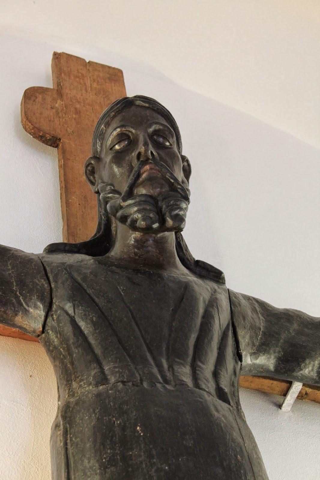 Monastero Santa Croce: il Cristo Nero