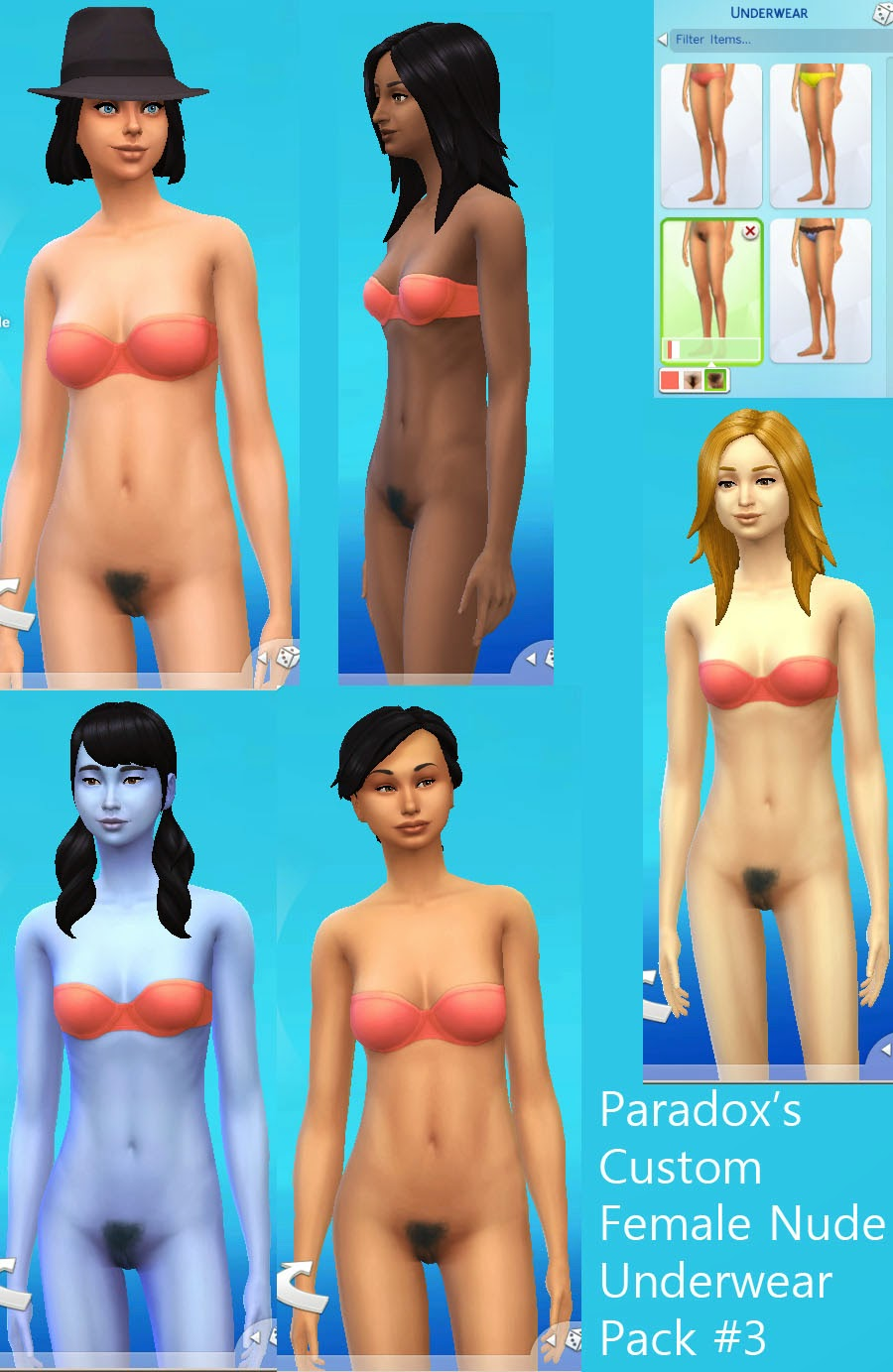Sims3 nude sikns erotic photos