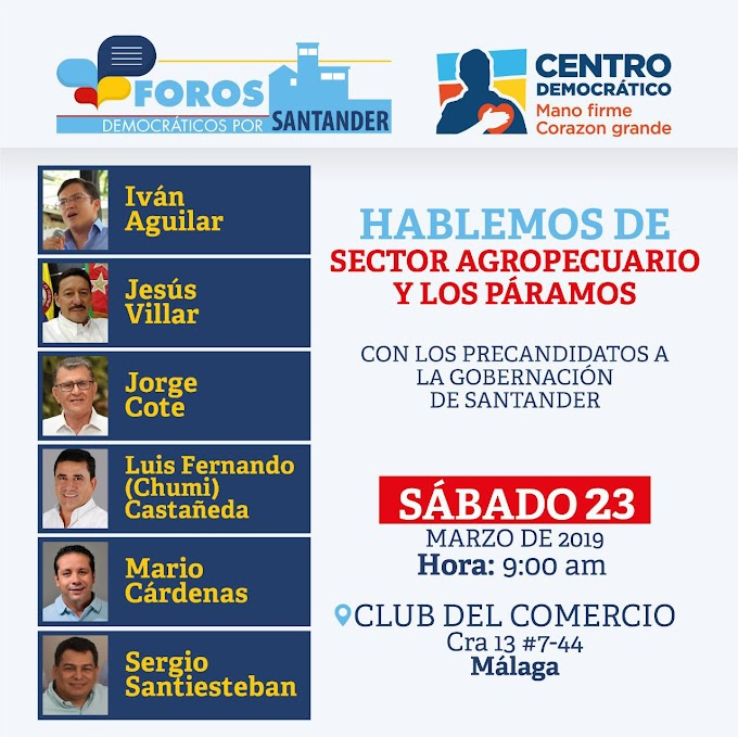 Este sábado, los Foros Democráticos por Santander estarán en Málaga