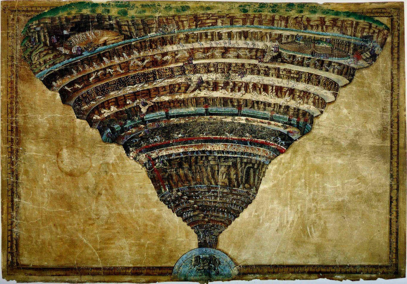 corruption in dante inferno Inferno 17: geryon (sandow birk: inf 176-9) and here, the simonists – figures of church corruption in dante's original poem, and of pollution.