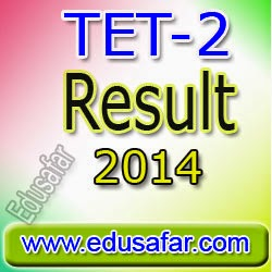 TET-2  Result-2014  Declared