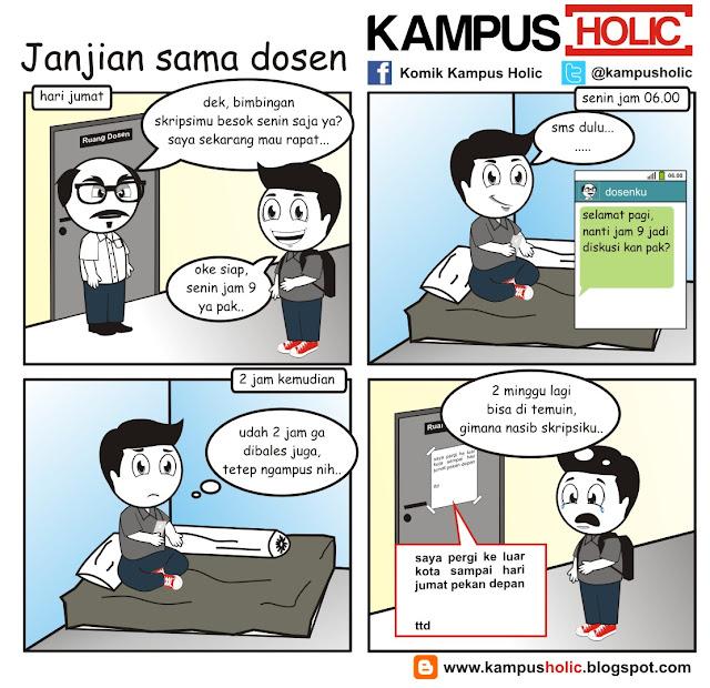 #004 Janjian sama dosen di kampus