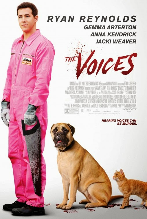 The Voices (2014) Poster