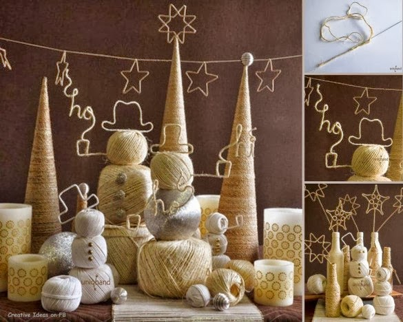 How To Recycle Do It Yourself Christmas Decor Tutorials