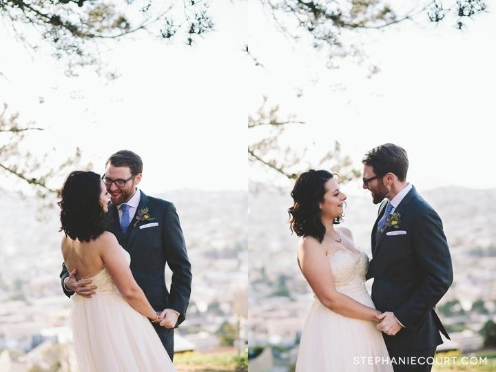 wedding reveal at bernal heights