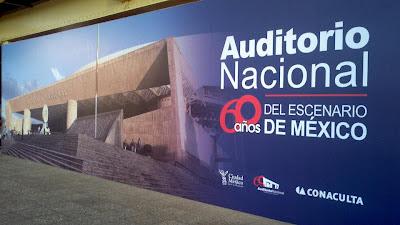 Celebran 60 años del Auditorio Nacional en las Rejas de Chapultepec