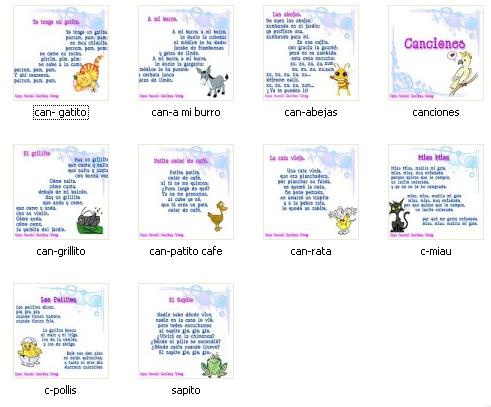 canciones para ninos: