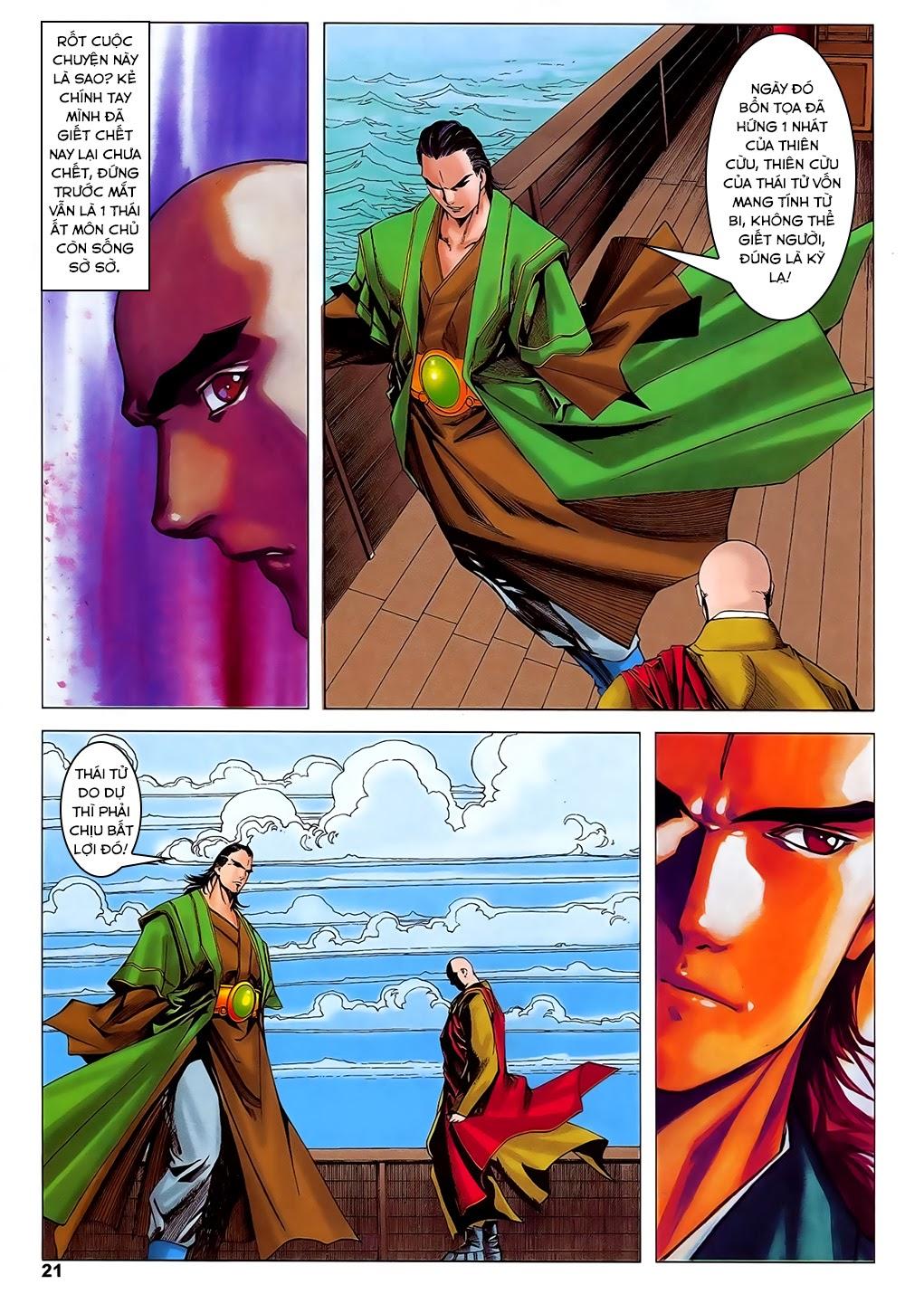Lục Đạo Thiên Thư chap 31 - Trang 21