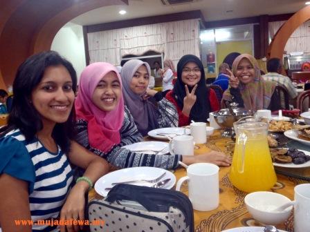 Majlis Berbuka Puasa Kelas 2014 Di Serunai Restaurant, serunai restaurant, restoran di pengkalan chepa