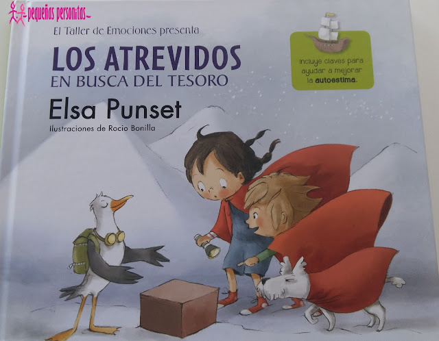 club de lectura, los atrevidos en busca del tesoro, Elsa Punset, los atrevidos, libros, libros infantiles, literatura, emociones, taller de emociones