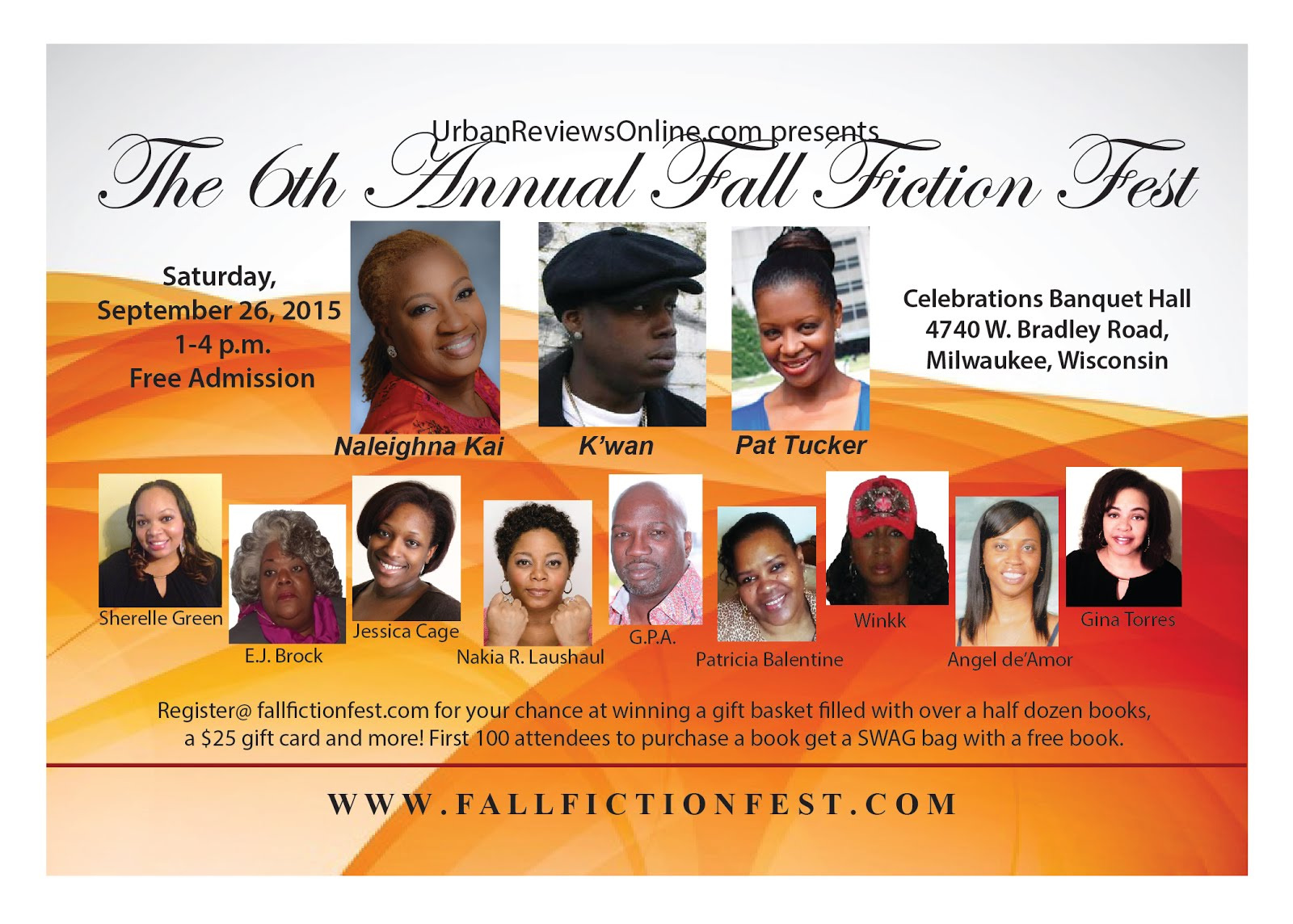 The 6th Annual Fall Fiction Fest