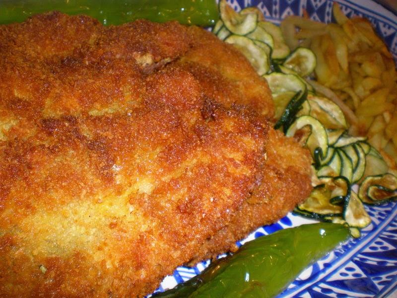 Blanc de poulet pané à la tunisienne
