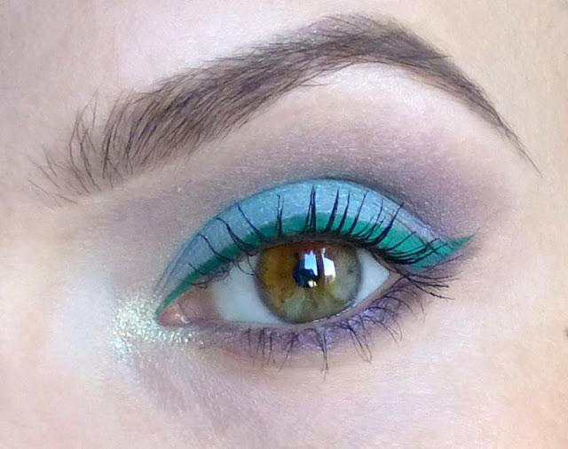 Hydratyzowany miętusek - makijaż mineralny