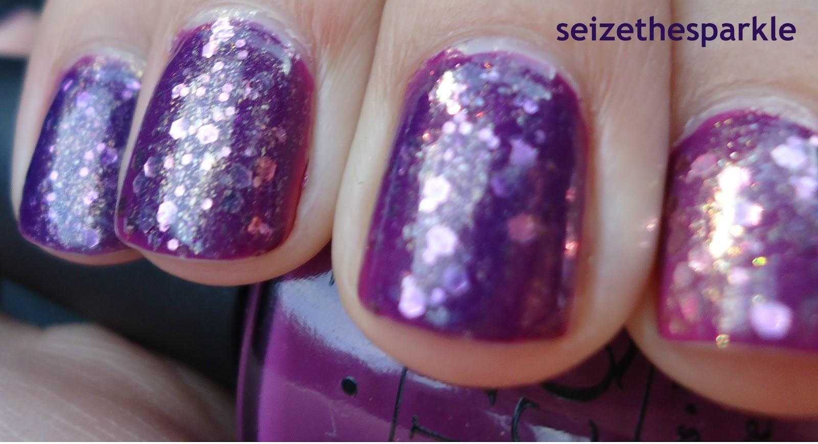 Grape Jelly Glitter Sandwich