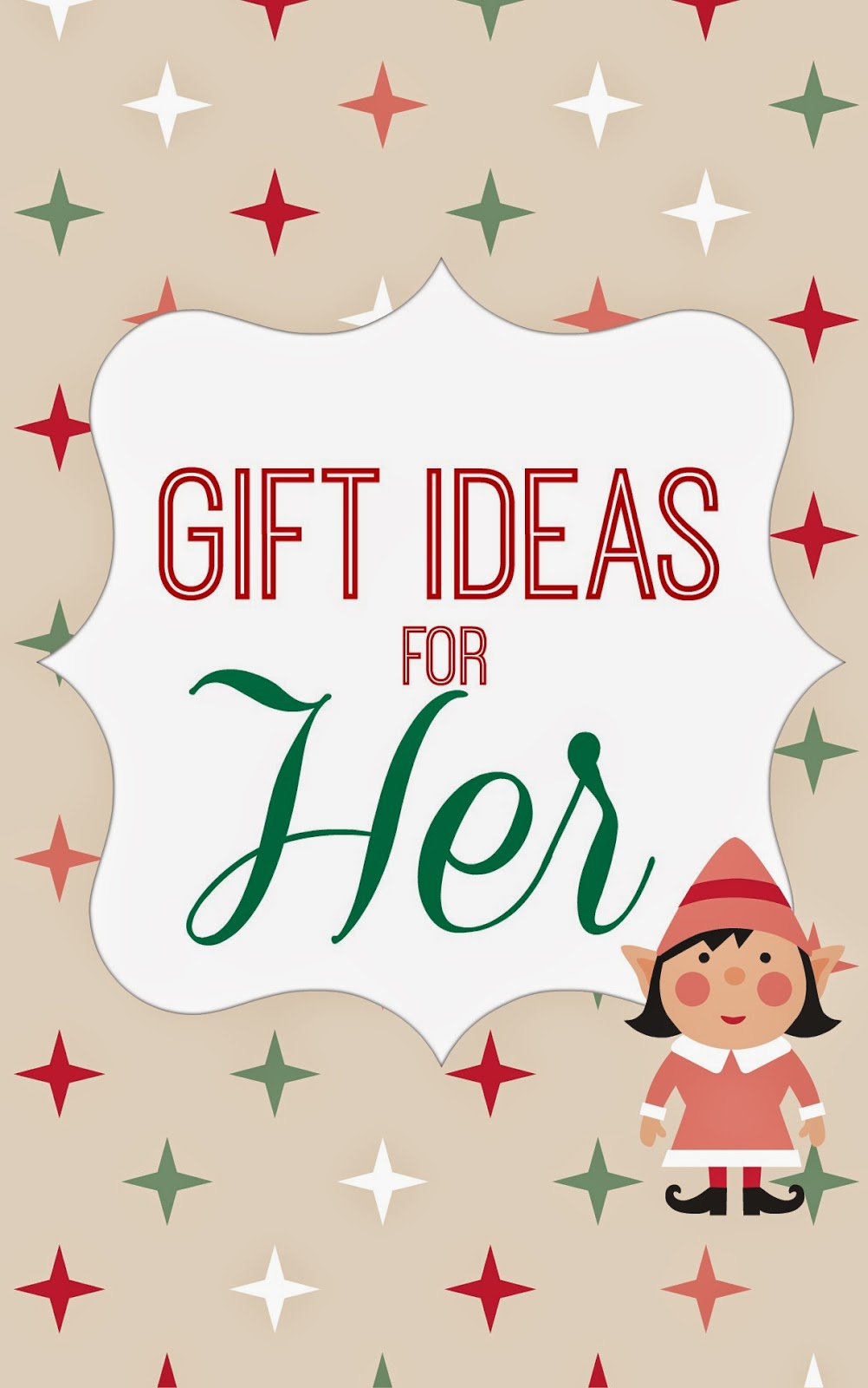 Home made modern gift ideas for her for Christmas gift ideas for her