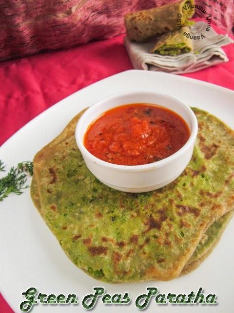 fresh-peas-paratha