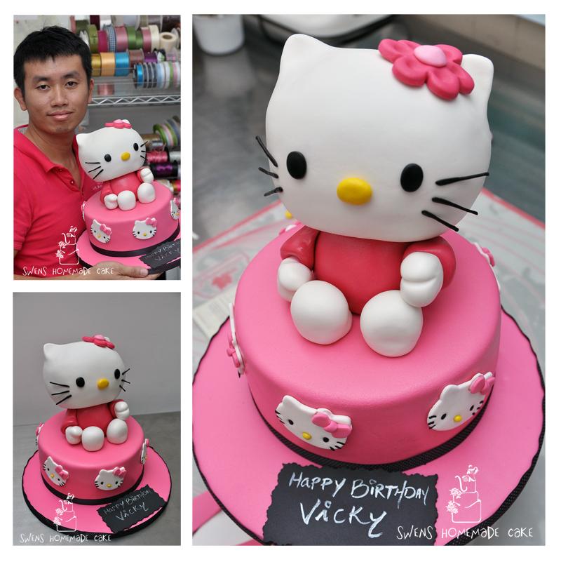 Hello Kitty Birthday Cake Penang Image Inspiration of Cake and