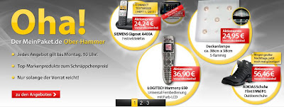 Neuer 10 Prozent-Gutschein für MeinPaket: MP10RABATT
