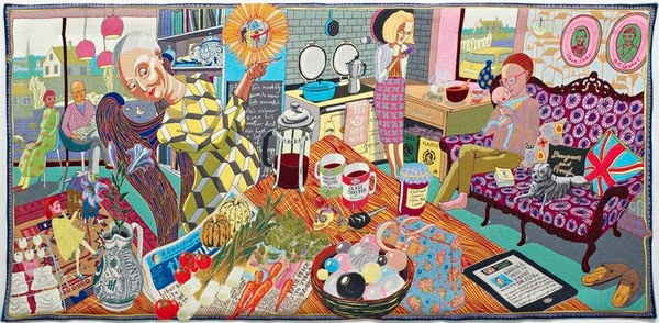 The Annunciation of the Virgin Deal by Grayson Perry.