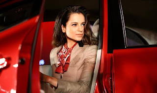 Kangana Ranaut unveil the 2015 Nissan Micra X-Shift Car in India
