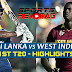 Sri Lanka Vs West Indies - 1St T20 - Highlights 9th Nov - 2015