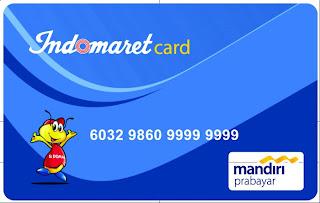 Kartu Member Indomarket minimarket waralaba indonesia