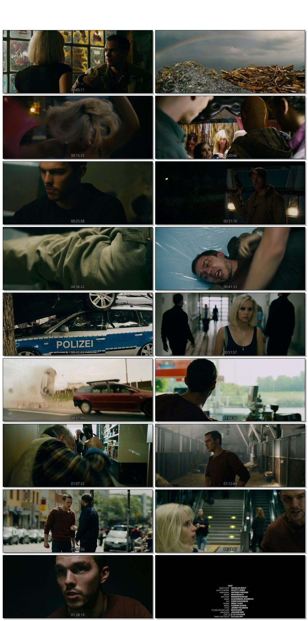 Screen Shot Of Collide 2016 Full Movie Download Free Watch Online 300MB