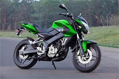 PULSAR 200 NS - verde