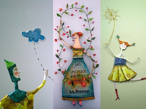 Juliana Bollini wonderful paper artwork