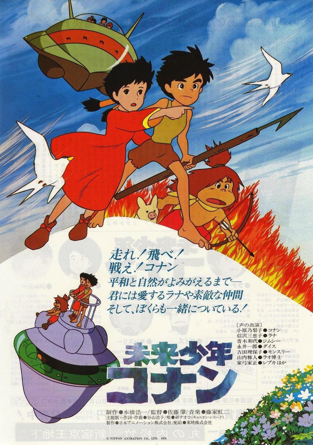 Gli anime di miyazaki prima dello studio ghibli l antro