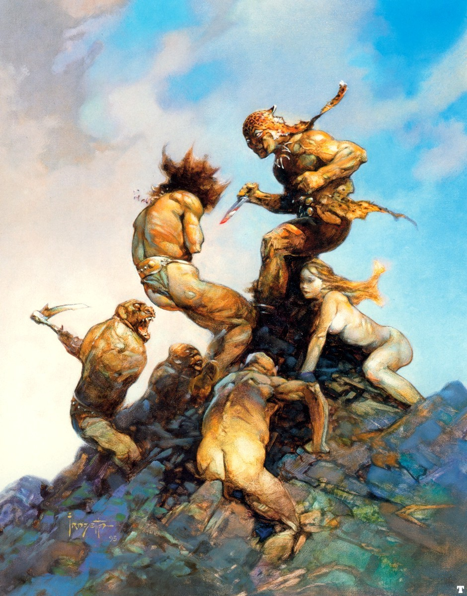Daily Lazy Frank Frazetta