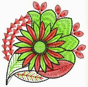 Embdesigntube Vintage Sari Patch Embroidery Designs