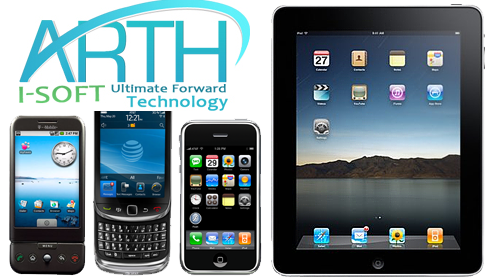 Mobile Application Development Services at Arth I-Soft