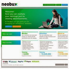 Get Paid To Click with NeoBux