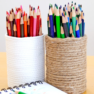rope Pencil Pots