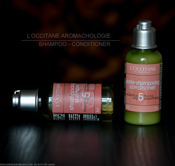 LOccitane Aromachologie Haircare - Shampoo Conditioner - Review