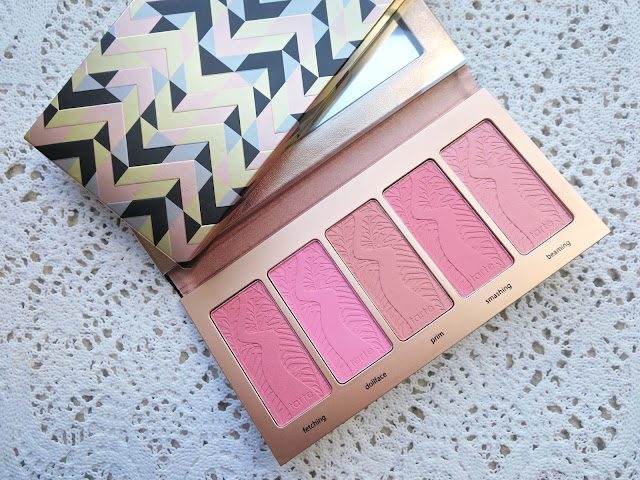 a picture of Tarte Bling It On Amazonian Clay Blush Palette