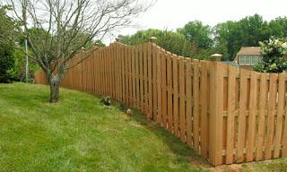 Деревянный забор. Фото 93